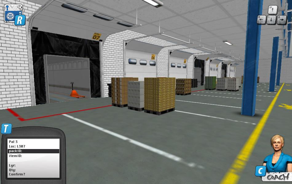 Warehousetrainer Goederen ontvangst