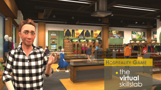 Hospitality Game Virtual Skillslab
