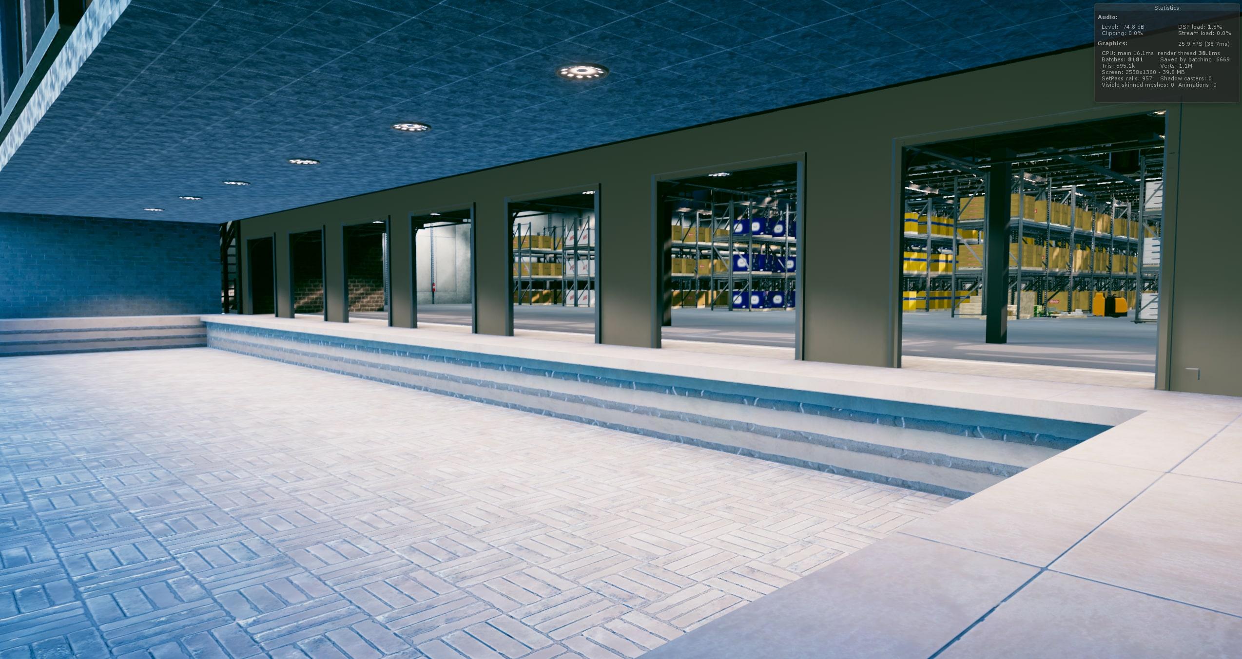 Warehouse Game Loading Docks