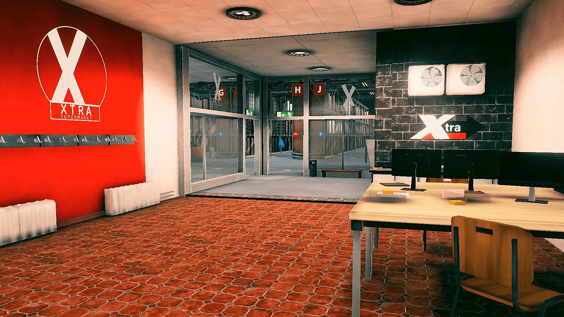 Warehouse Game Cockpit